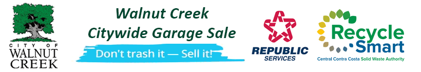 Walnut Creek Citywide Garage Sale